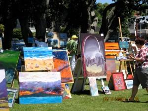 Sea side exhibition