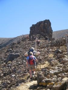 Trek towards Red Crater